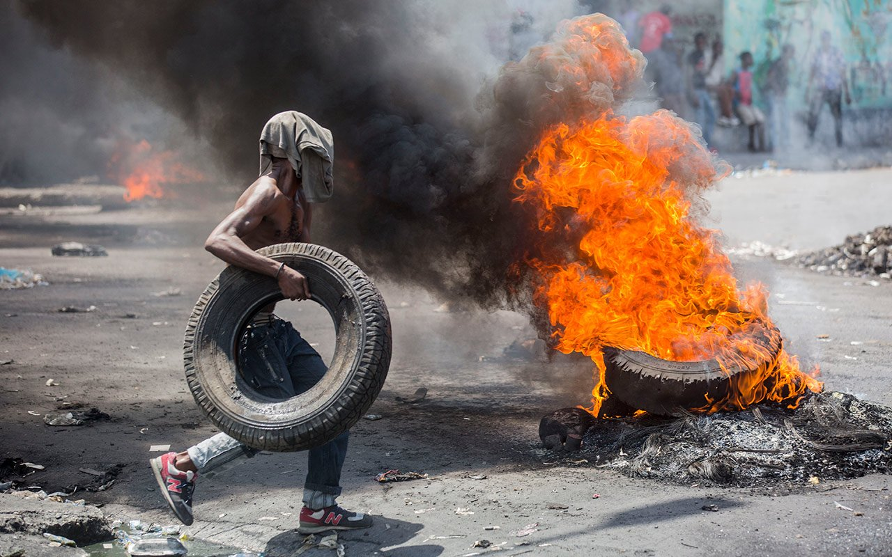 Port-au-Prince, Haïti, 13 juin 2019