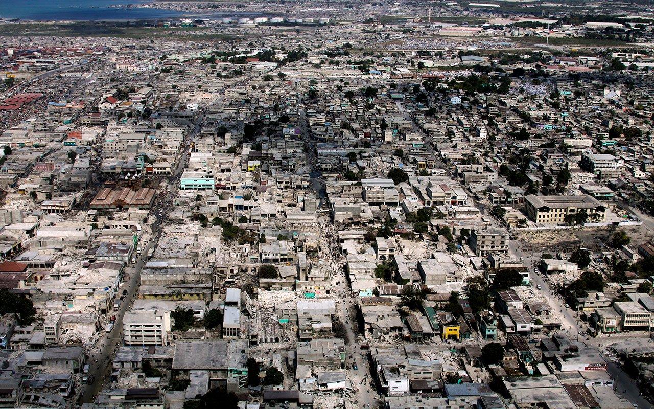 Port-au-Prince, Haïti, 21 janvier 2010